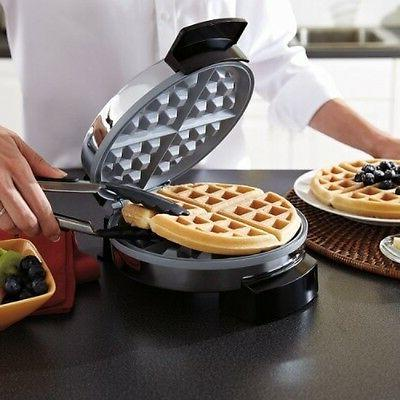 Oster CKSTWF1502ECO DuraCeramic Waffle Maker, New, Shipping