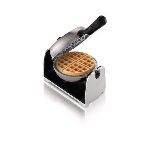 Oster CKSTWFBF22-ECO DuraCeramic Flip Waffle Maker  Stainles