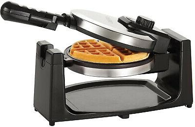 classic belgian waffle maker rotating non stick