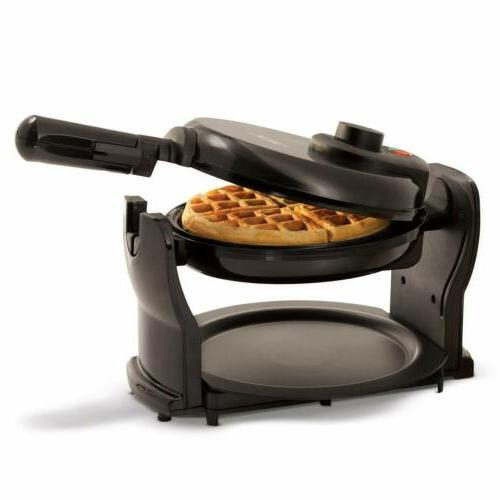 Classic Rotating Non-Stick Waffle with Drip