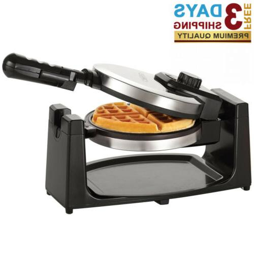classic rotating non stick belgian waffle maker