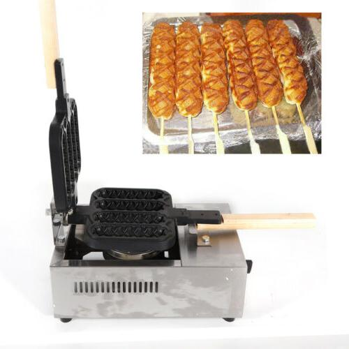 commercial 4 hot dogs waffle maker baking