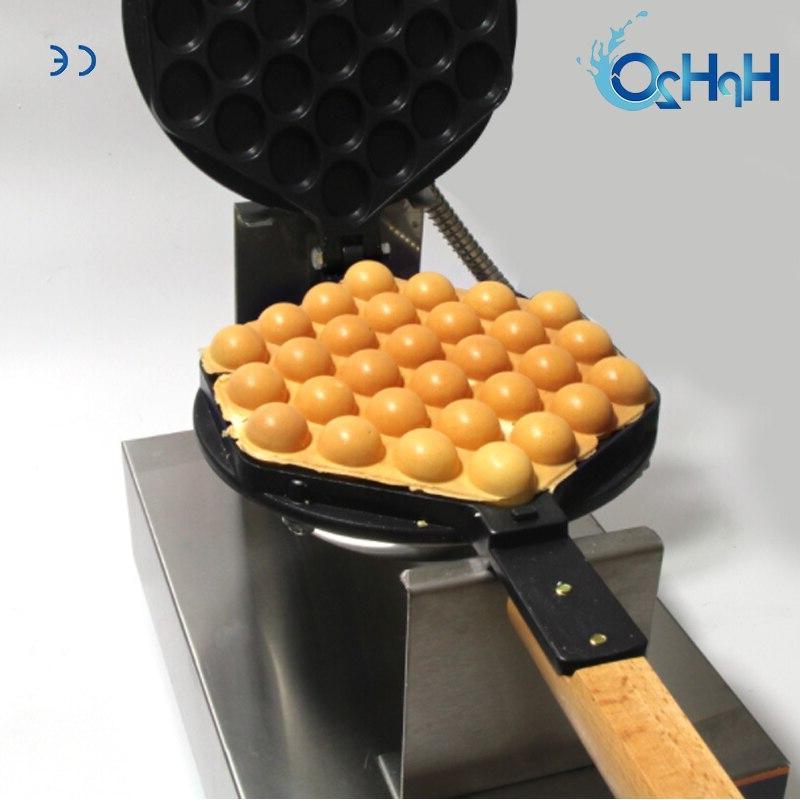 Commercial /220V Non-stick pan <font><b>waffle</b></font> <font><b>maker</b></font> cake <font><b>iron</b></font> <font><b>maker</b></font> machine bubble