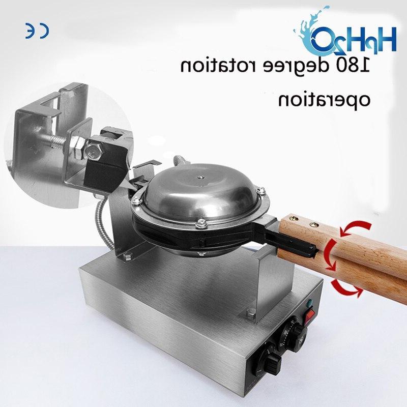 Commercial Electric 110V /220V Non-stick pan egg <font><b>waffle</b></font> Eggettes bubble cake oven