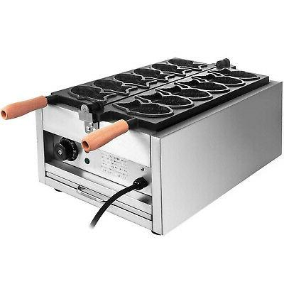 Commercial Nonstick Electric Fish Machine Maker Iron