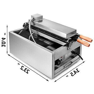 Commercial Nonstick Fish Taiyaki Machine Maker