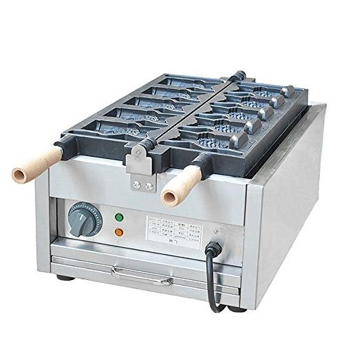 Commercial 110V Open Mouth Fish Maker Iron