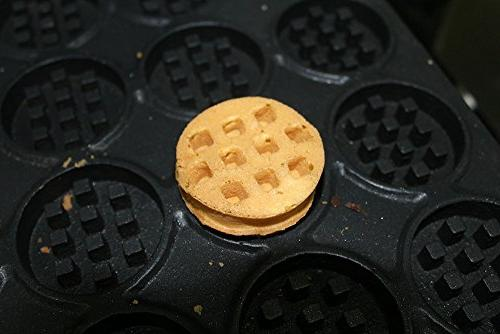 Commercial Nonstick 220V Electric Round Waffle Machine