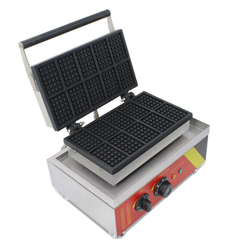 Commercial Nonstick Electric Square Baker Machine