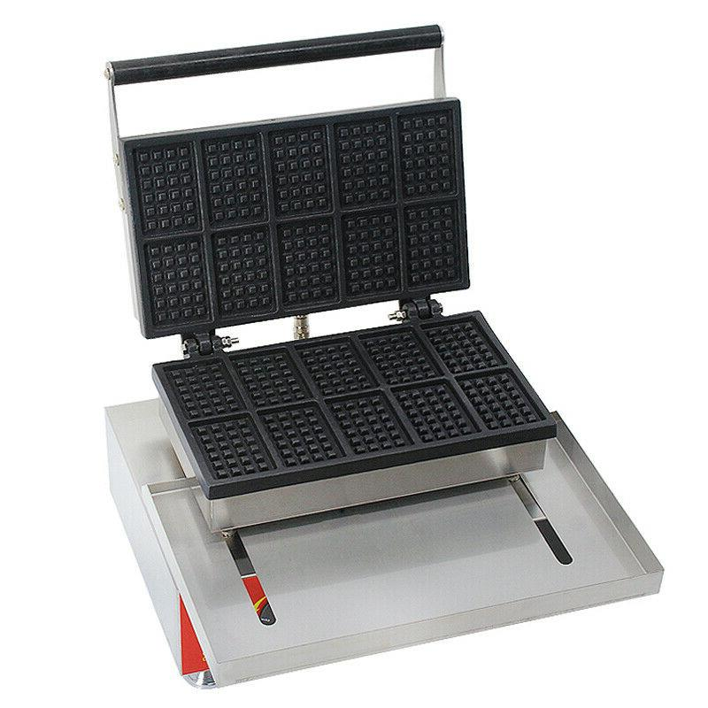 Commercial Square Waffle Baker Machine Iron