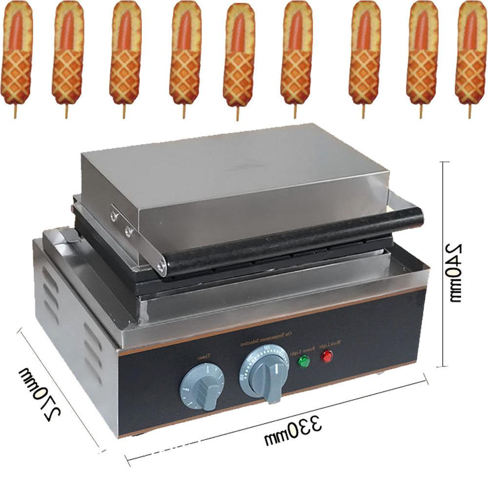 Commercial Nonstick 6pcs Waffle Maker Lolly Waffle