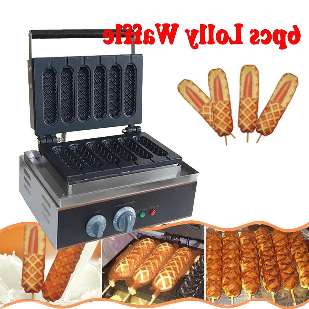 commercial nonstick electric waffle dog