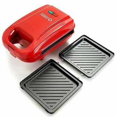 Cook's Companion 650W Nonstick Waffle Maker Removable Plates