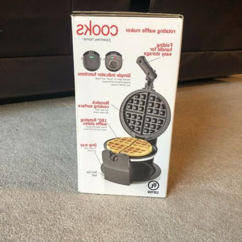 Cooks Rotating Waffle Makers Kitchen Appliances Dining