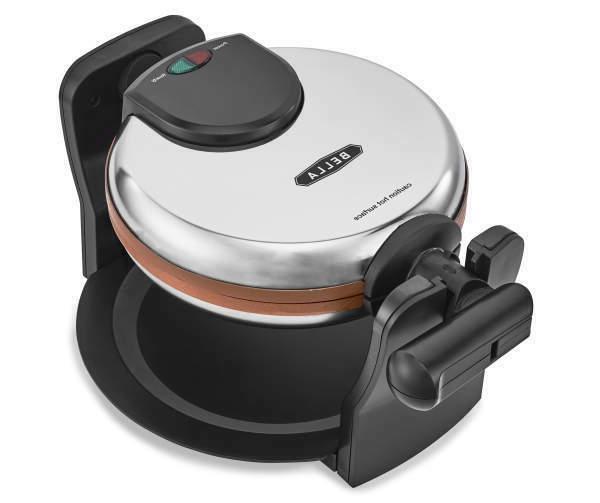 copper rotating waffle maker