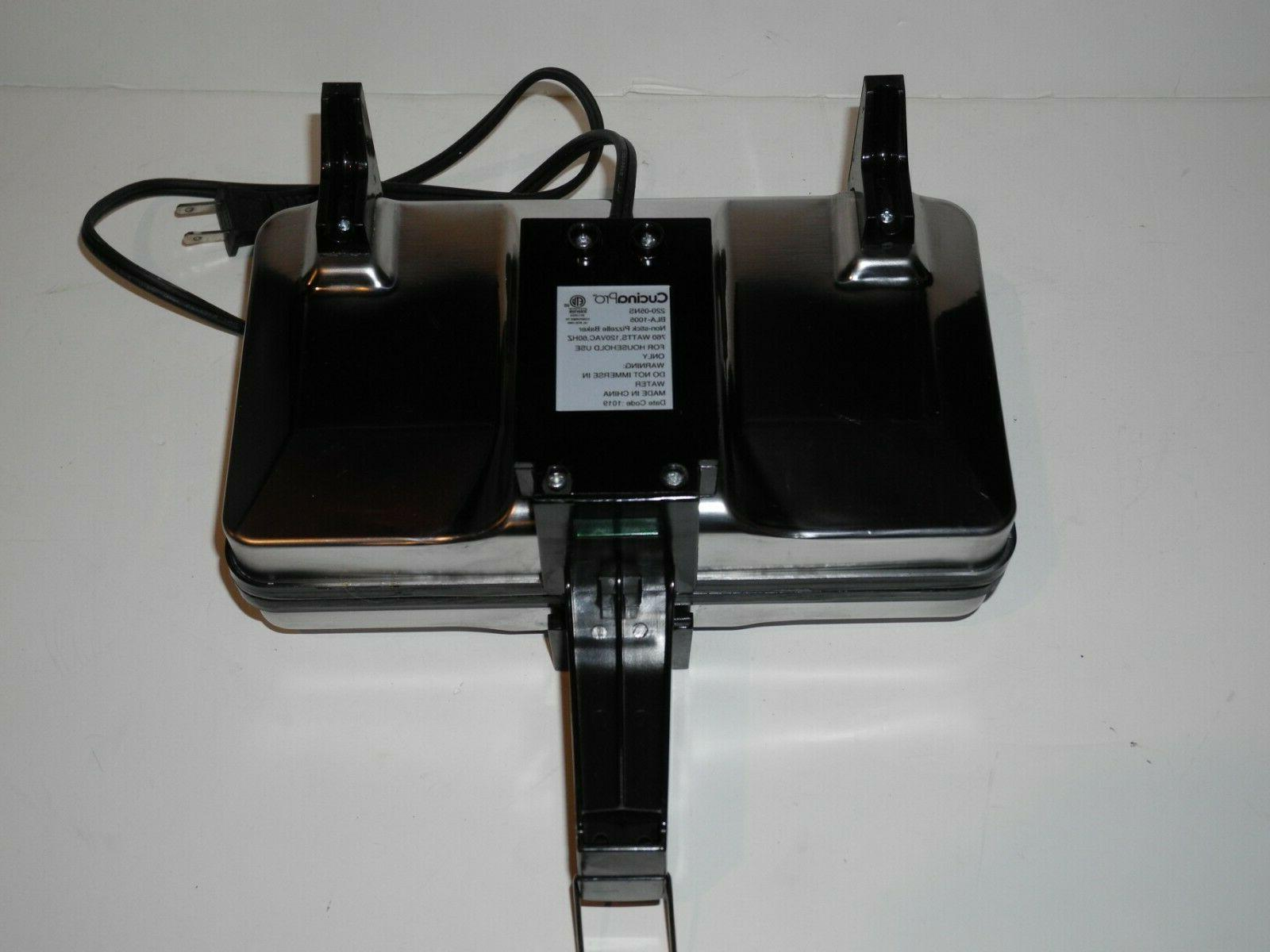 Cucina Pro Baker Iron 220-05NS 760 Watts