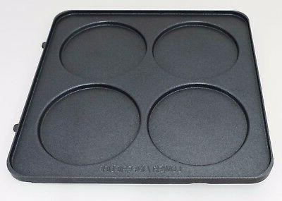 cuisinart belgian waffle maker lower pancake plate waf 300lp