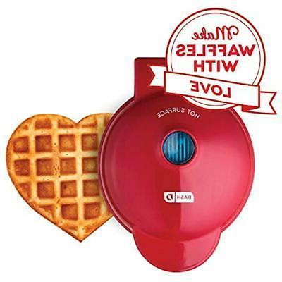 dash dmw001hr mini maker machine for heart