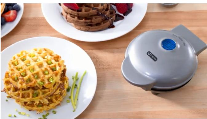 Mini Waffle Maker for Individual