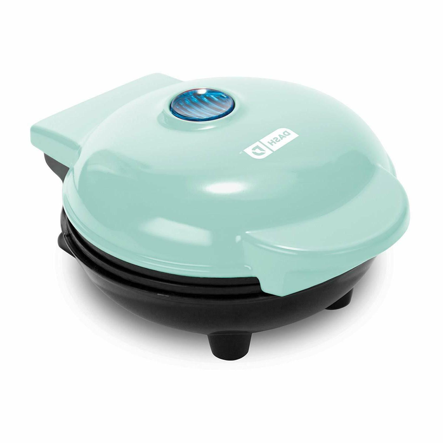 Waffle Maker Iron Belgian Non-Stick Polished Stainless Dash