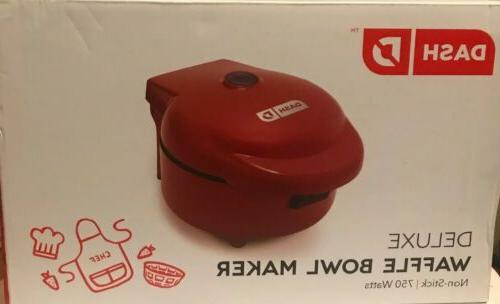 deluxe waffle bowl maker nonstick 750 w