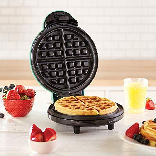 Dash Express Waffle Machine for Individual Browns + Other The go Lunch, or Clean,