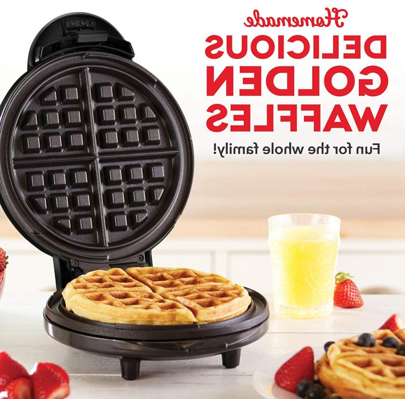 """Dash 8"""" Waffle Maker Machine for Individual Servings,"""
