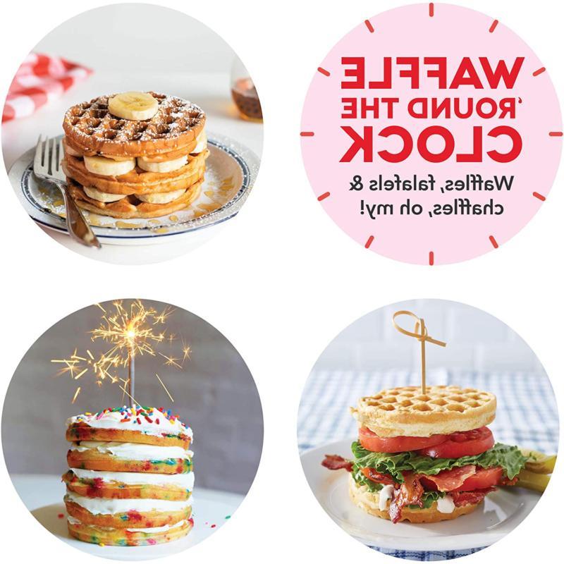 """Dash DEWM8100BK 8"""" Waffle Maker for"""