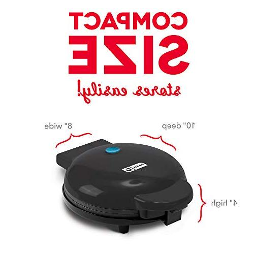 Dash Waffle Maker Individual Servings, Browns The Lunch, or Snacks, Clean, Non-Stick