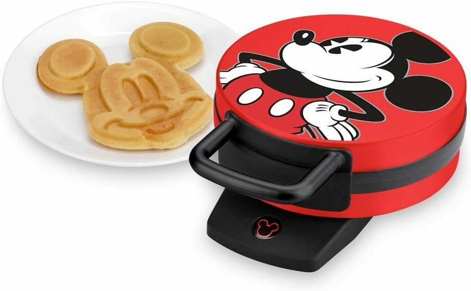 Disney DCM-12 Mickey Mouse Waffle Maker - Red / 1 DAY FAST S