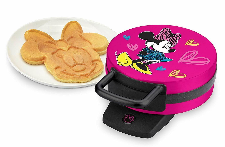 dmg 31 pink minnie mouse waffle maker