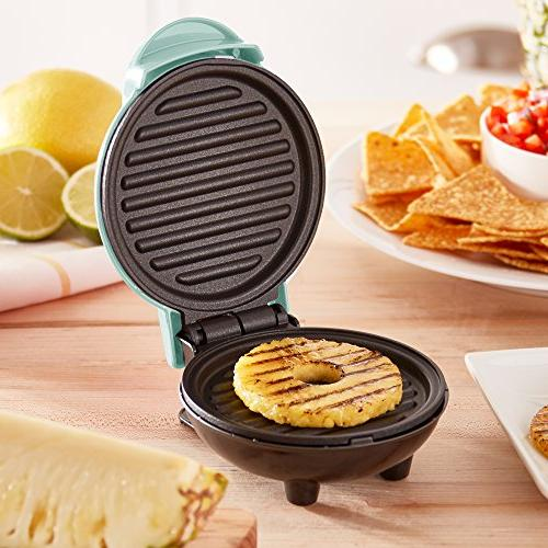 Portable Grill Machine Burgers, Chicken + Other On with Aqua
