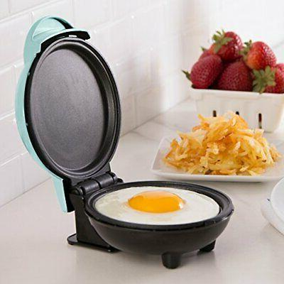 Dash DMS001AQ Electric Round Griddle Individual