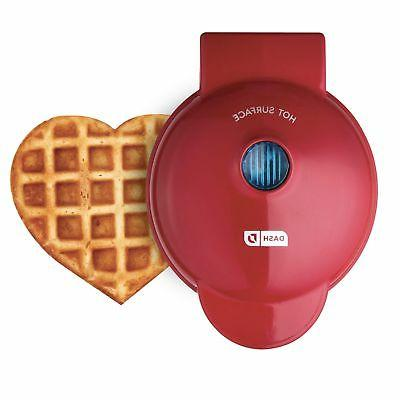 dmw001hr mini heart maker waffle iron shaped