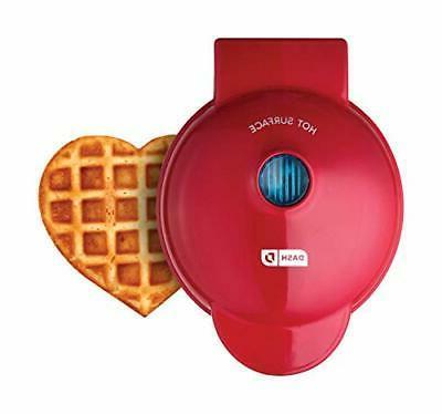 dmw001hr mini heart maker waffle