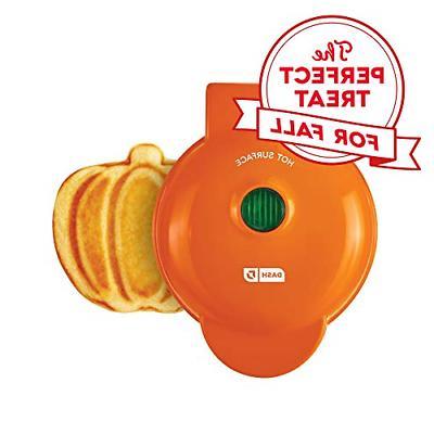 dmwp001or mini waffle maker machine orange