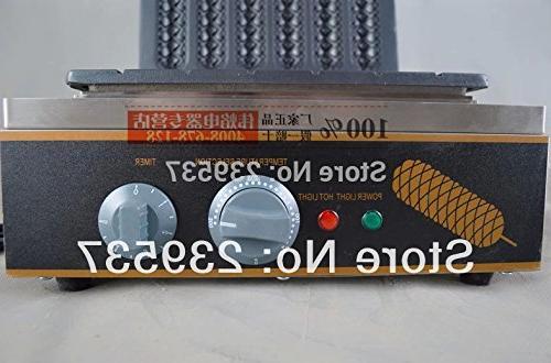 Hot dog roaster| hot dog hot dog maker 6 grids 220V