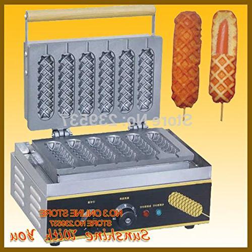 Hot hot dog maker|French hot dog hot dog maker 6 220V waffle maker
