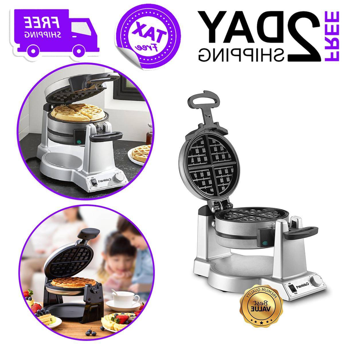 double belgian waffle maker for kitchen home