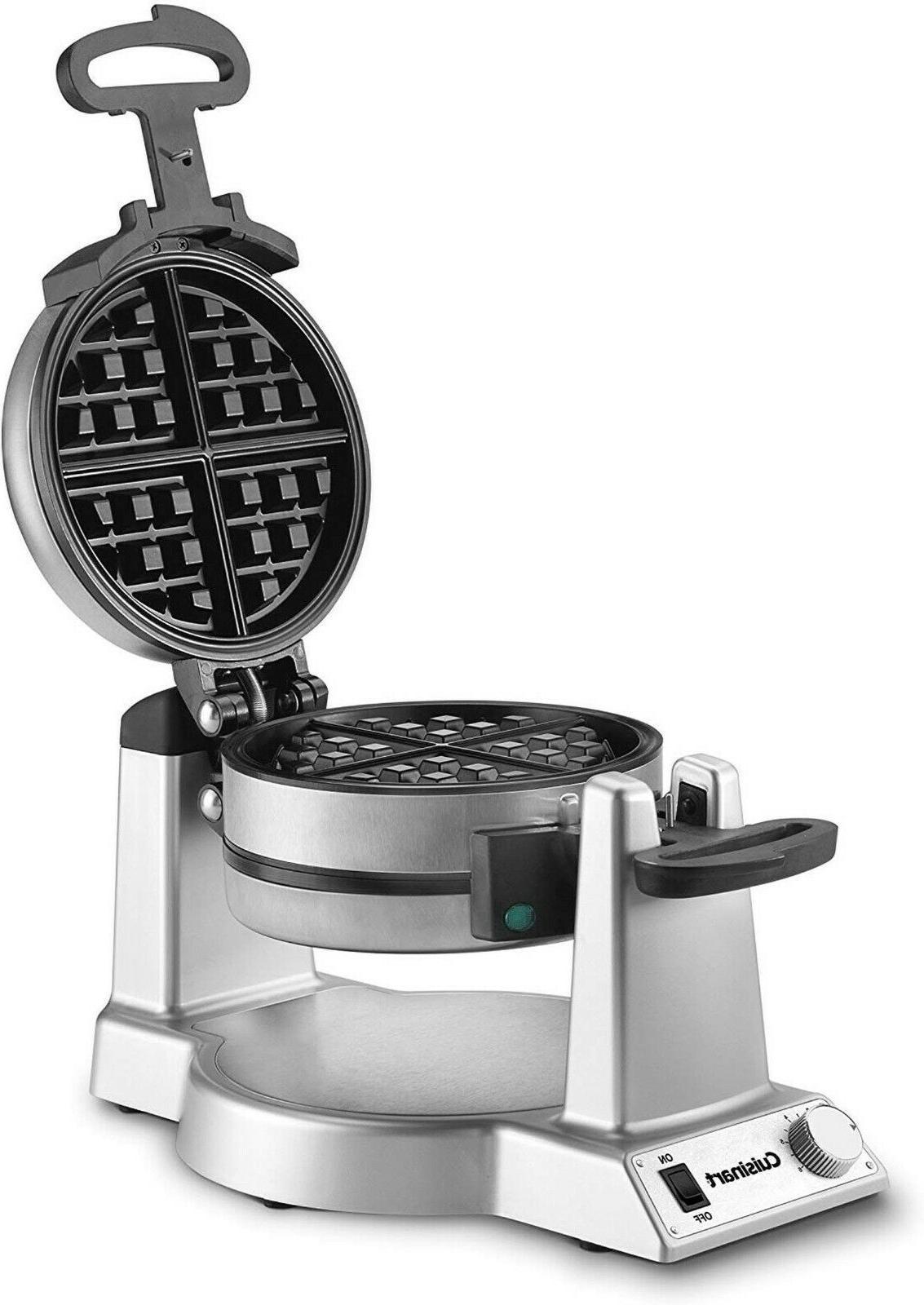 Waring Pro Double Belgian Waffle Maker Machine Commercial Ba