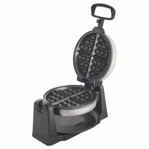 durable home kitchen stainless steel belgian waffle