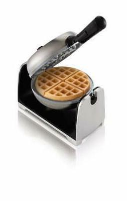 Oster DuraCeramic Stainless Steel Flip Waffle Maker CKSTWFBF