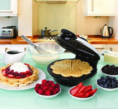 eco friendly heart waffle maker