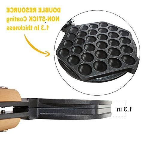 Egg Waffle Rotated