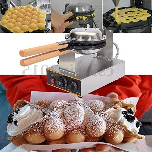 Cocoarm Egg Maker,Stainless Steel Rotated Nonstick Egg Bread