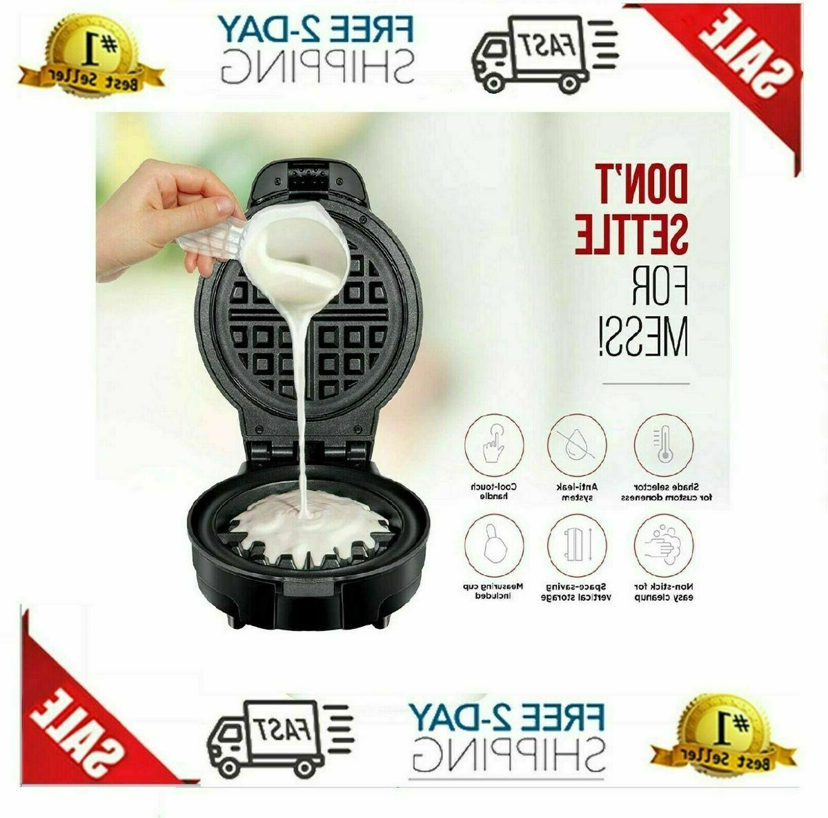Electric Belgian Waffle Nonstick Cooking Baker