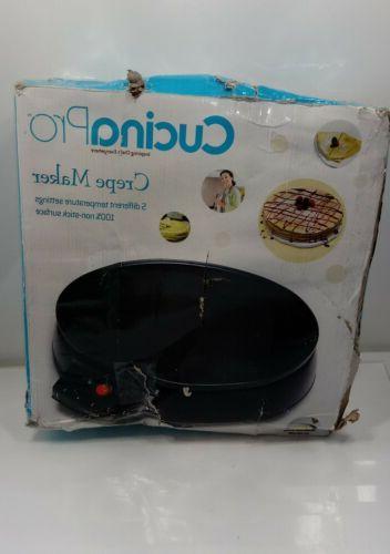 CucinaPro Electric Griddle & Crepe Maker