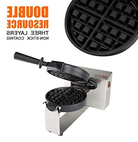 180 4-Slice Waffle Maker Baker Iron