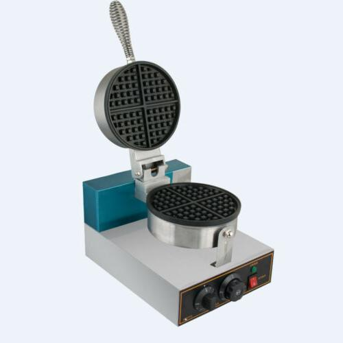 Electric Waffle Kitchen Commercial 1250W Nonstick