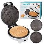 Electric Waffle Maker Kitchen Breakfast Pancake Cooker w/ In